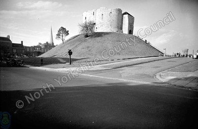Clifford's Tower and York Castle